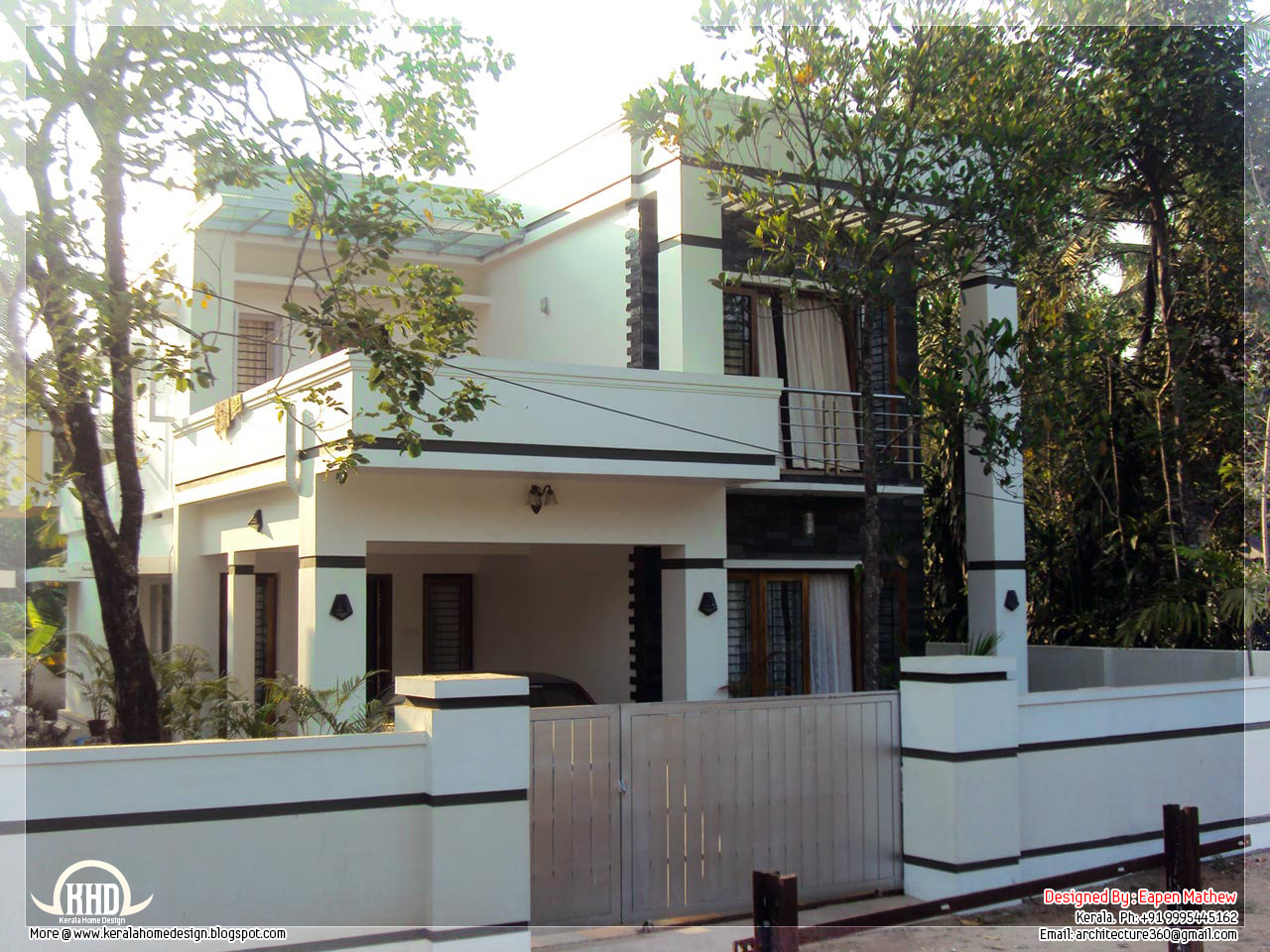 14 Beautiful Villa Elevations Kerala Home Design And