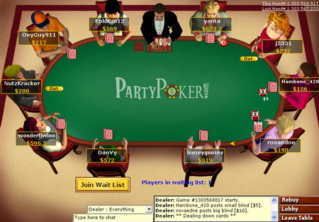 partypoker down