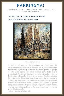SAGRADA FAMILIA-BARCELONA-PINTURAS-ERNEST DESCALS-PARKINGS