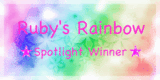 Spotlight Winner @ Ruby&#39;s Rainbow Challenges