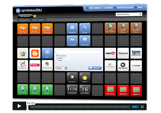Symbaloo Screenshot