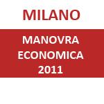 Manovra Economica 2011 Milano