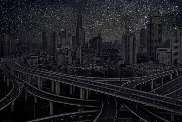 Villes Éteintes / Darkened Cities - fotografia de Thierry Cohen