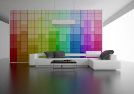 Casas modernas decoraci n moderna para casas for Paneles para paredes interiores