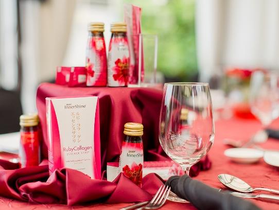 brands innershine ruby collagen media event mandarin