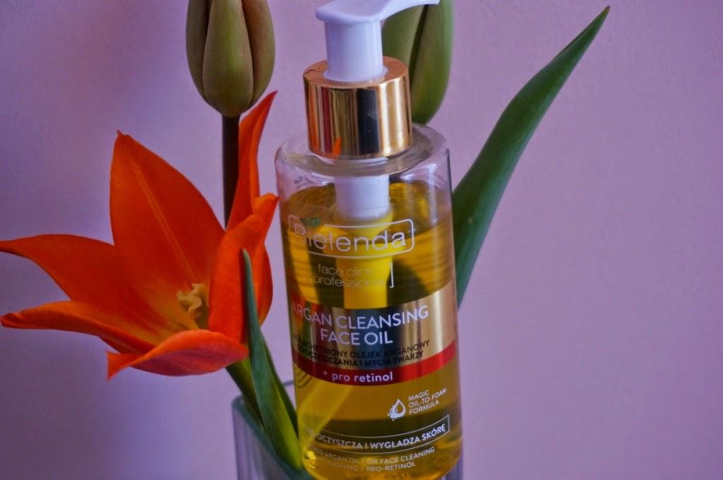 Arganowy olejek do mycia twarzy Bielenda - coś czego moja skóra nie lubi
