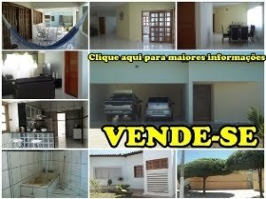 Vende-se residncia localizada na Av. 07 de Setembro