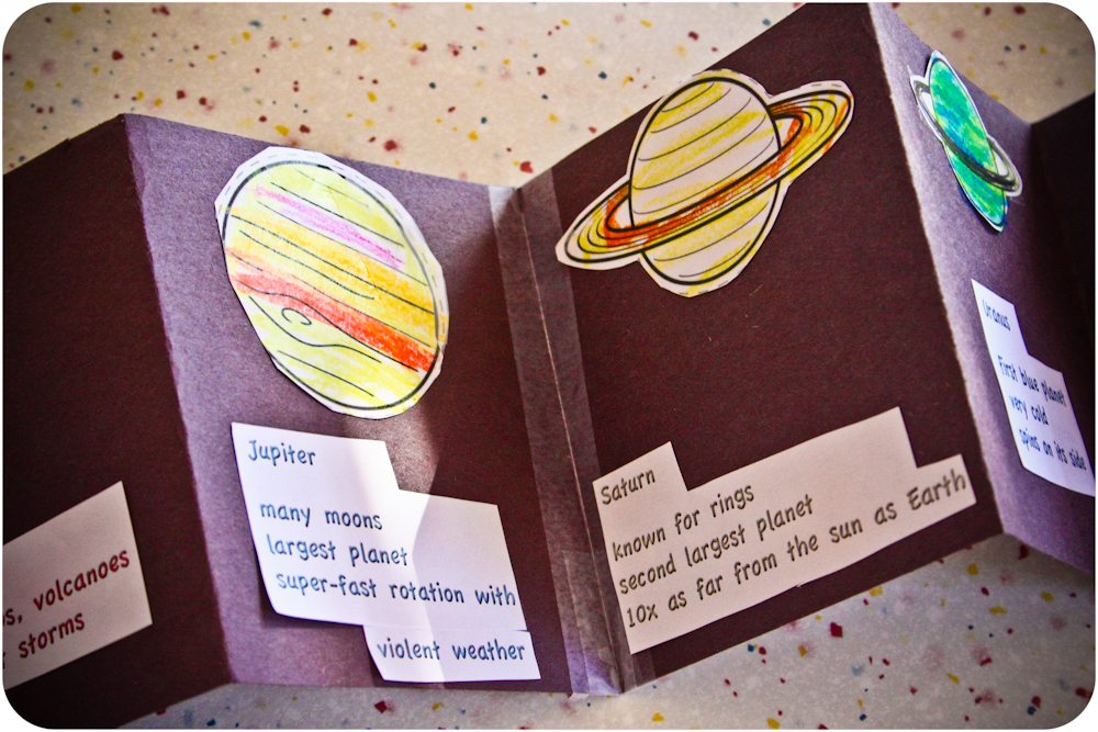 free printable solar system booklet - photo #28