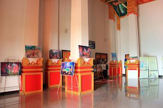 Interior of Wat Neua Thatluang