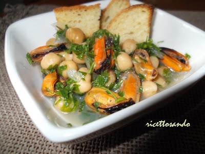 capodanno ricetta di zuppa di cozze