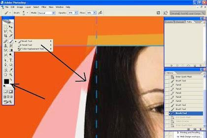 Langkah-langkah memanipulasi foto dengan Photoshop