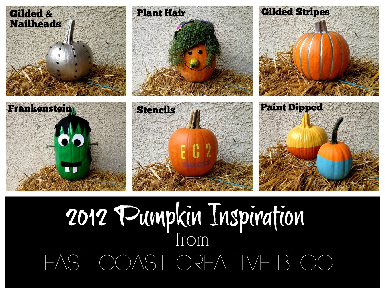 Creative pumpkin decorating ideas 2012 east coast Unique pumpkin decorating ideas