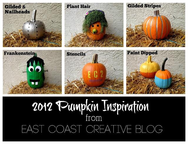 Creative Pumpkin Decorating Ideas 2012 East Coast