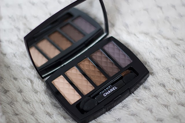 chanel eyeshadow palette in charming