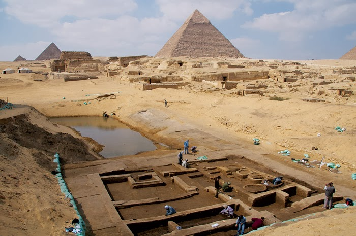 New findings at Egypt's Giza Plateau