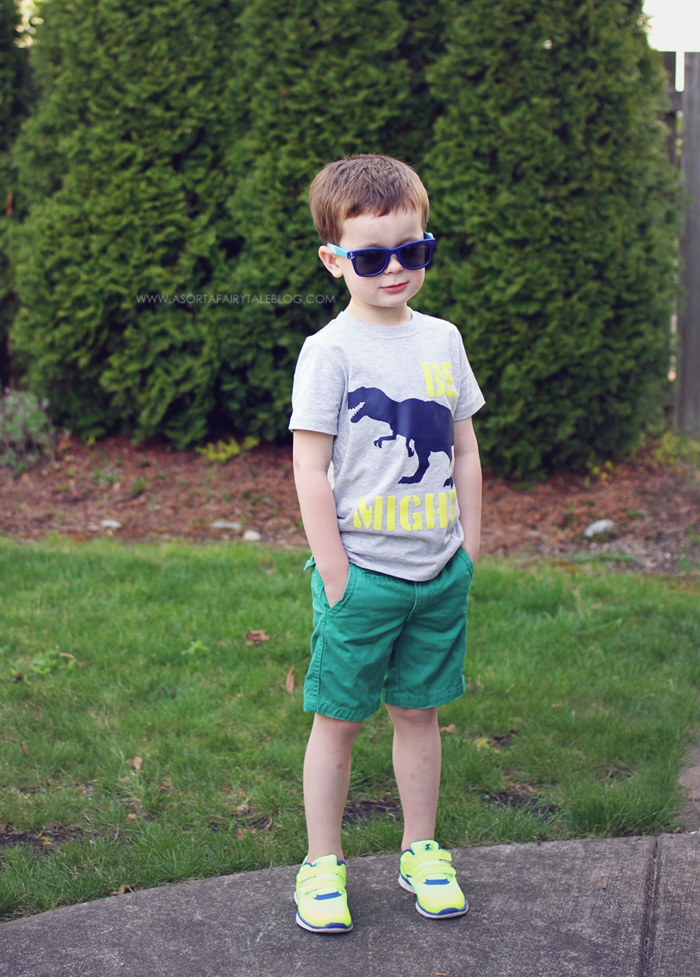 A Sorta Fairytale: Boys Fashion - Shorts & T-shirts!
