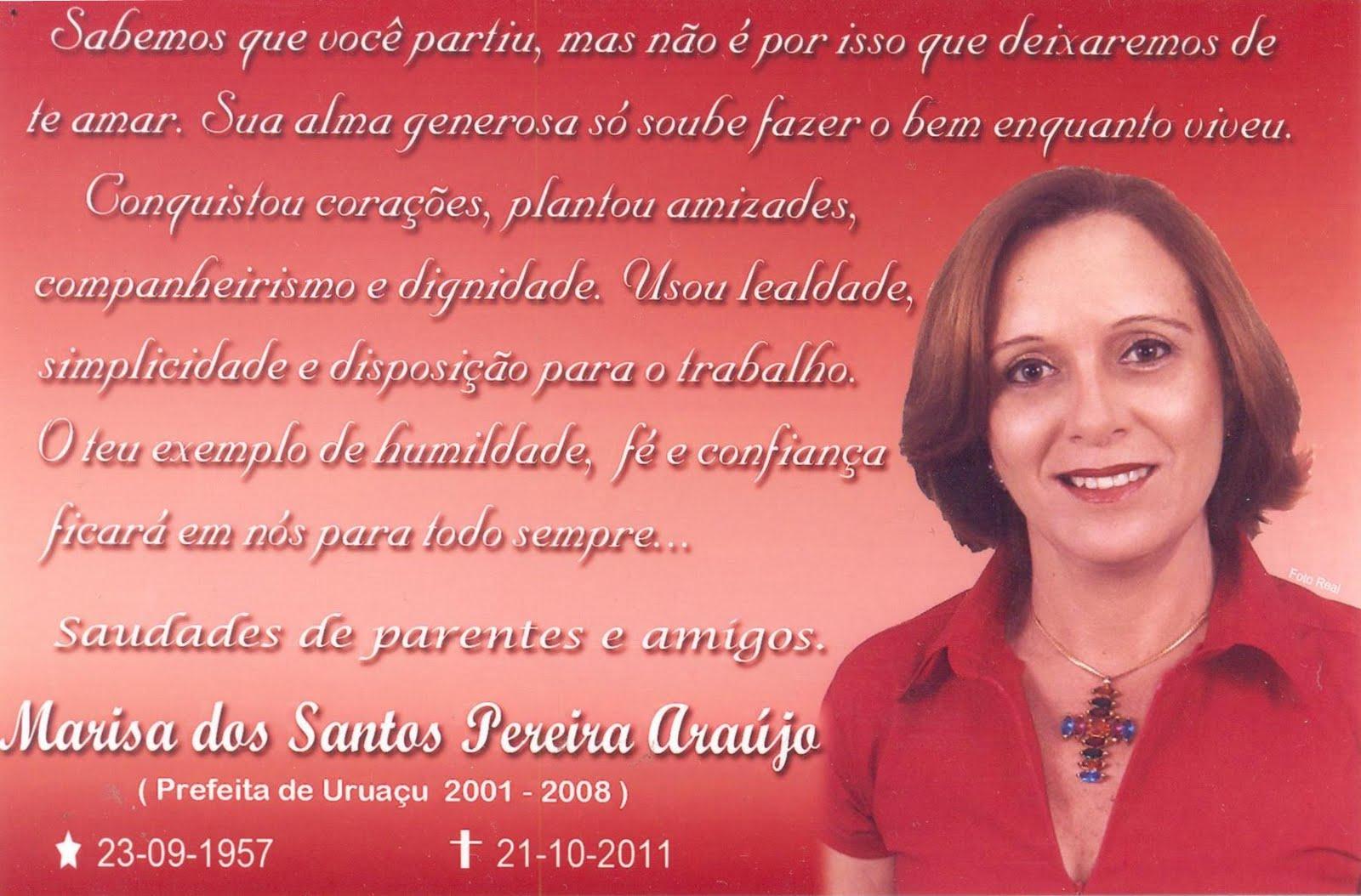 Blog Do Carzem Missa De 7º Dia De Marisa