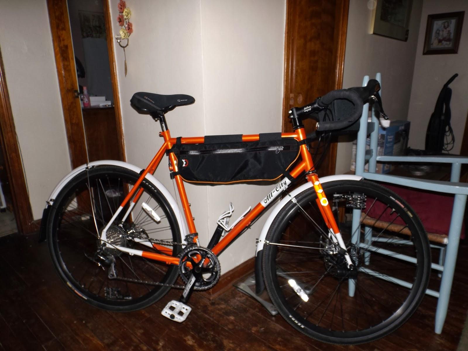 Fat Guy On An Orange Bike Planet Bike Cascadia Fenders