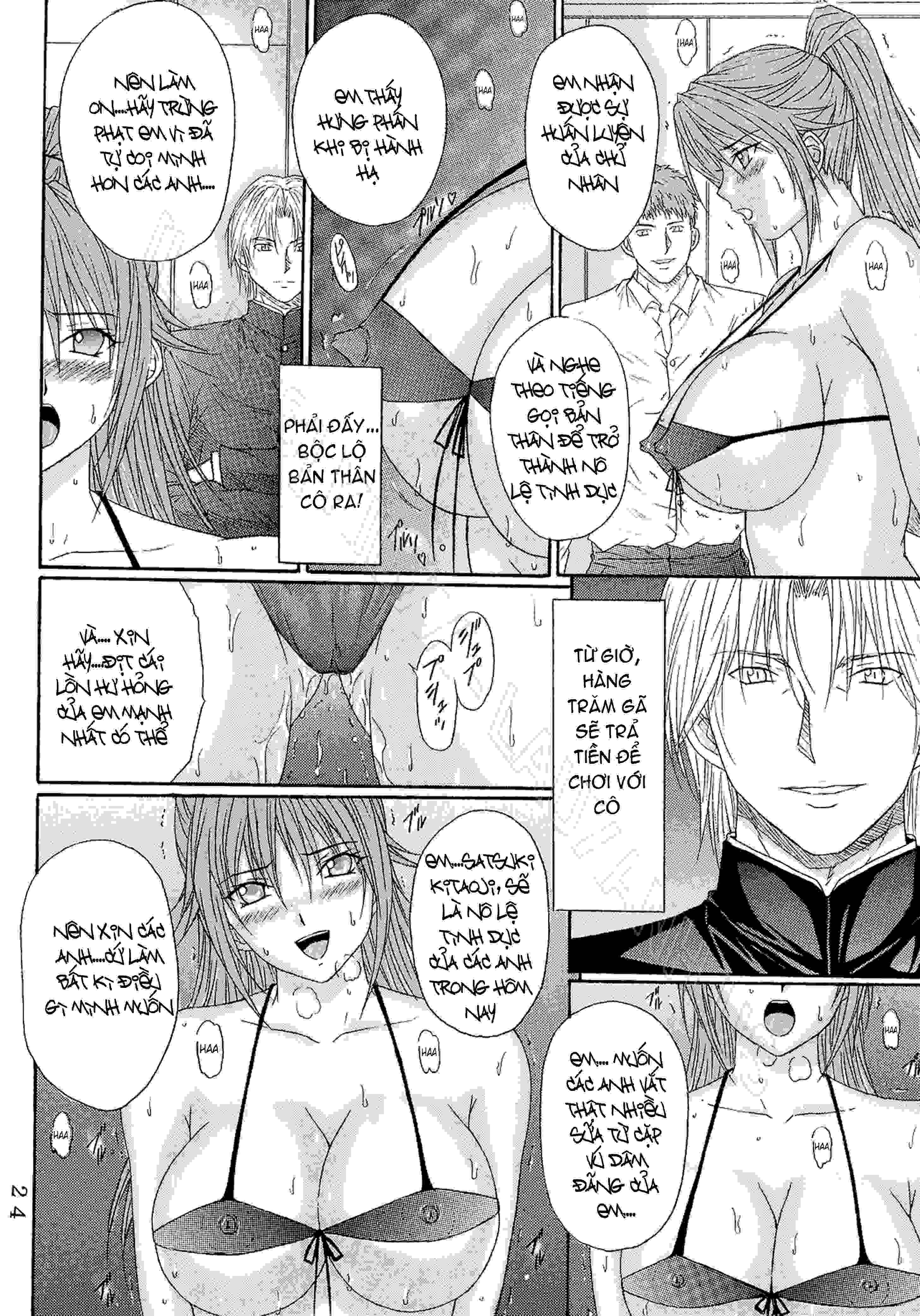 TruyenHay.Com - Ảnh 23 - Ryoujoku Rensa Chapter 6