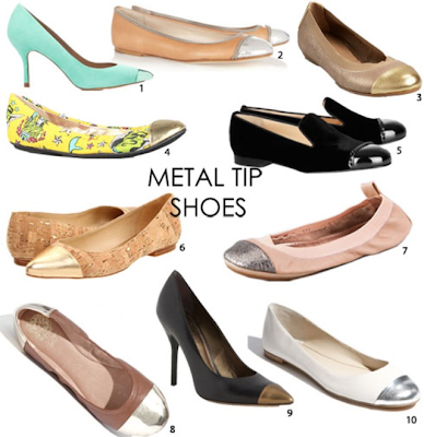 Metal Tip Shoes