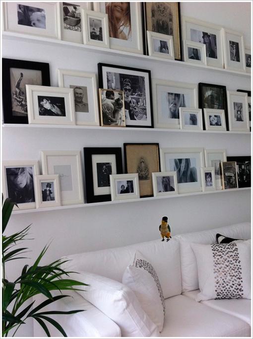 Unik dissenys colgar cuadros y fotos de forma decorativa - Formas de colgar cuadros ...