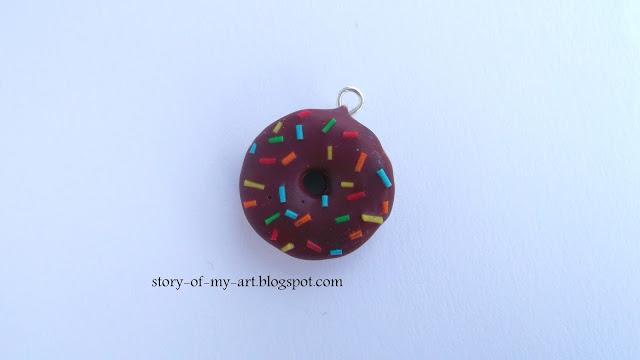 Czekoladowy Donut