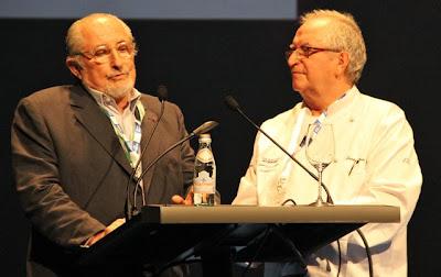 Alain Sanderens y Juan Mari Arzak Blog Esteban Capdevila