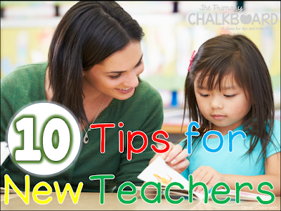 Back to School Tips and Ideas for New Teachers