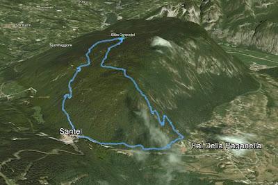 GPS baite campedel