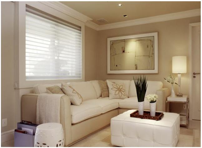 Sala Pequena Sofa De Canto ~ Veja ideias de decorações de salas com sofás de canto