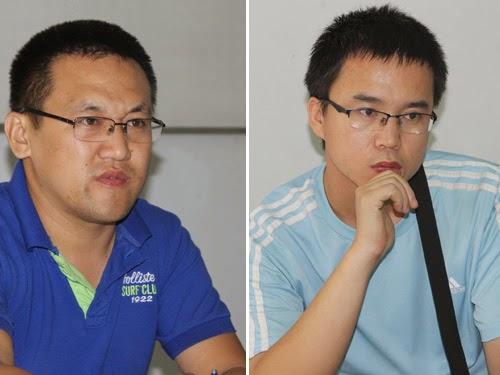 Xia Rong Lei và Wu Hua Peng