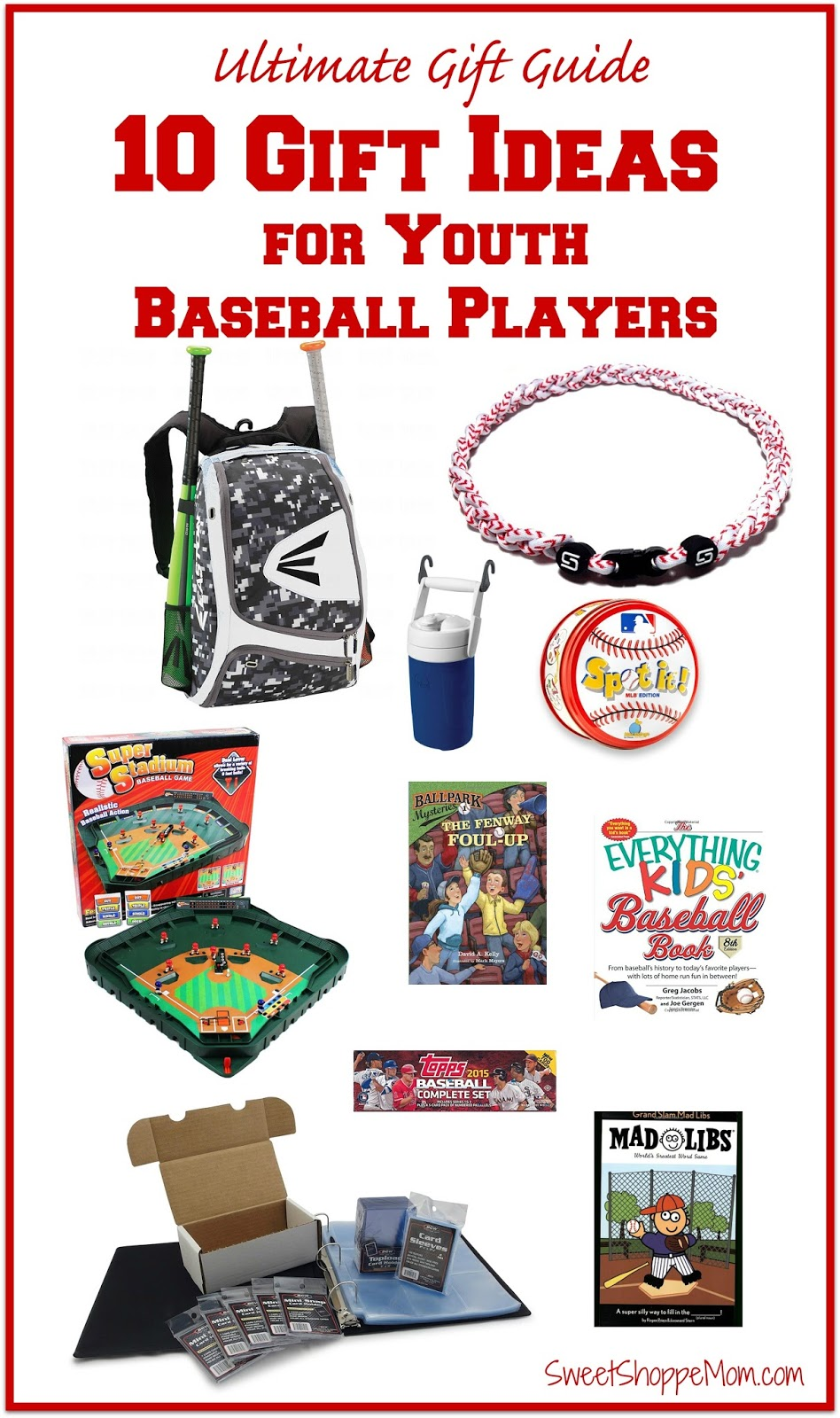 The Ultimate Gift Guide - 10 Gift Ideas for Youth Baseball Players ...
