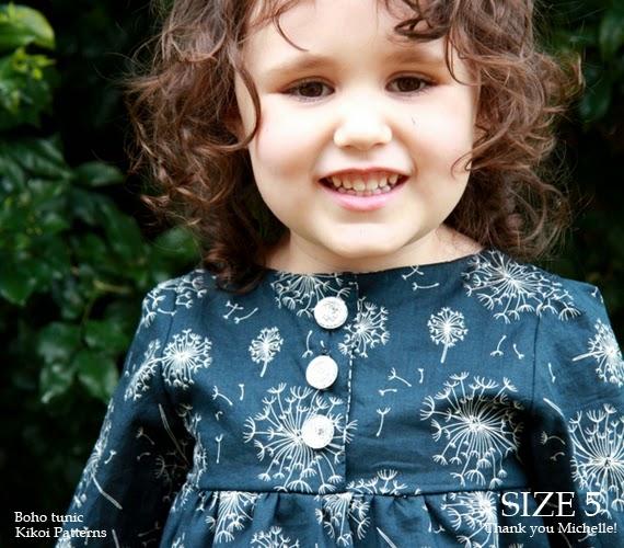 Boho Tunic Pattern Boho Dress Pattern
