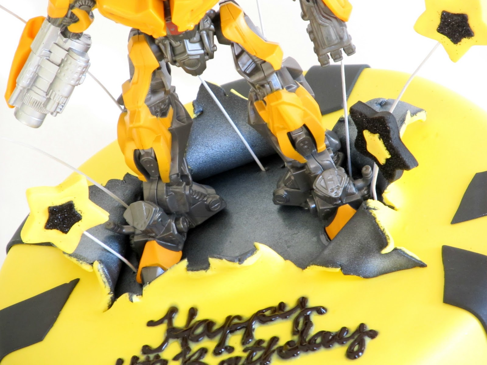 Как сделать из мастики робот
