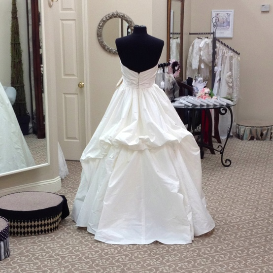 Wedding Dress Bustle: Style... The New Black: Other Miscellaneous Bridal