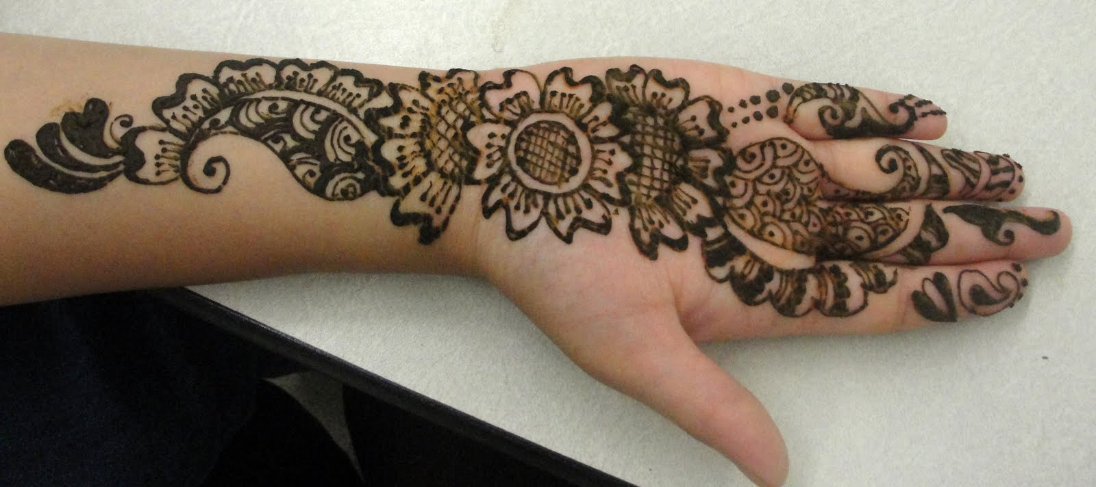 Mehndi Designs Arabic Video For Hands Simple And Easy 2013 For