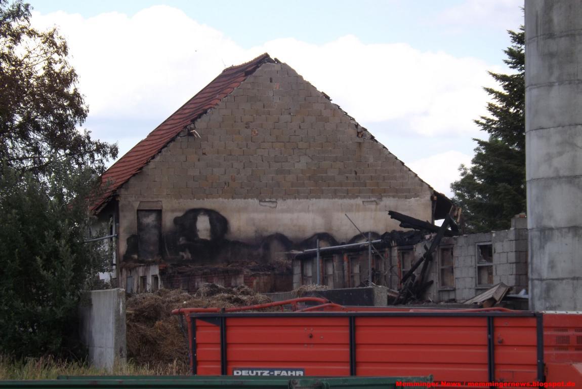 Memminger News: Nachtrag zum Brand auf Bauernhof - Mindelheim