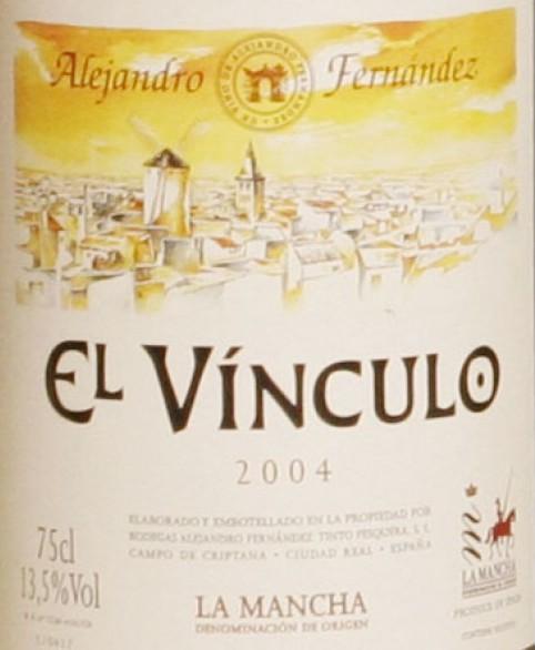 Etiqueta Vino El Vínculo