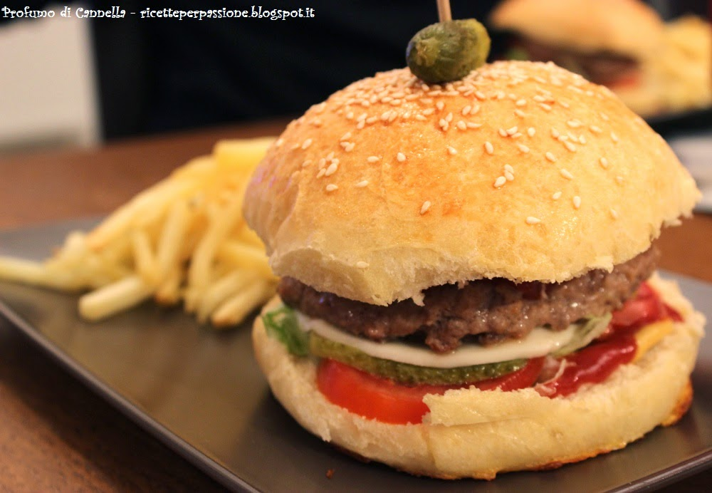 burger buns - amabile junk food