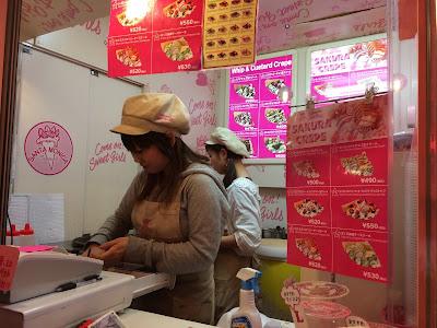 Harajuku Ice-cream crepe