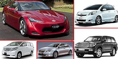 Mobil Toyota Terbaru 2012 Indonesia