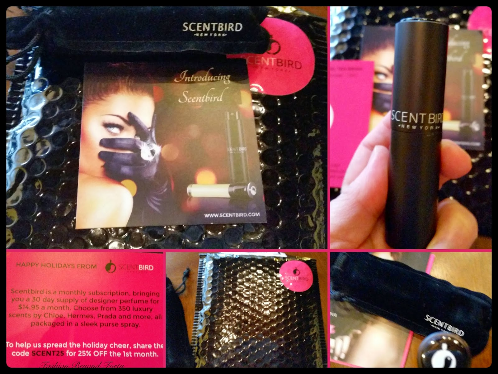 ScentBird Review Fashion Beyond Forty Scent Bird perfume subscription service