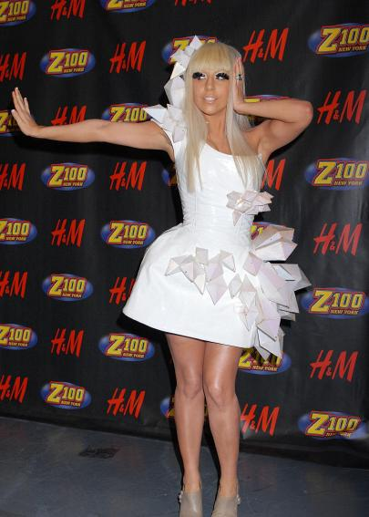Lady Gaga Makeup Style. GAGA as Fashion Columnist?