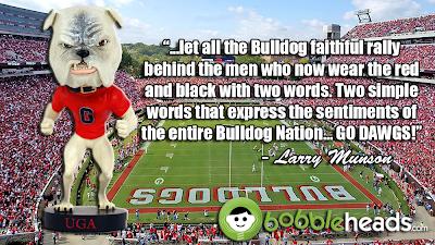 UGA Georgia Bulldogs Bobblehead