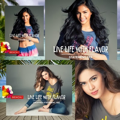 Lovi Poe and Shaina Magdayao for Bench Summer 2014