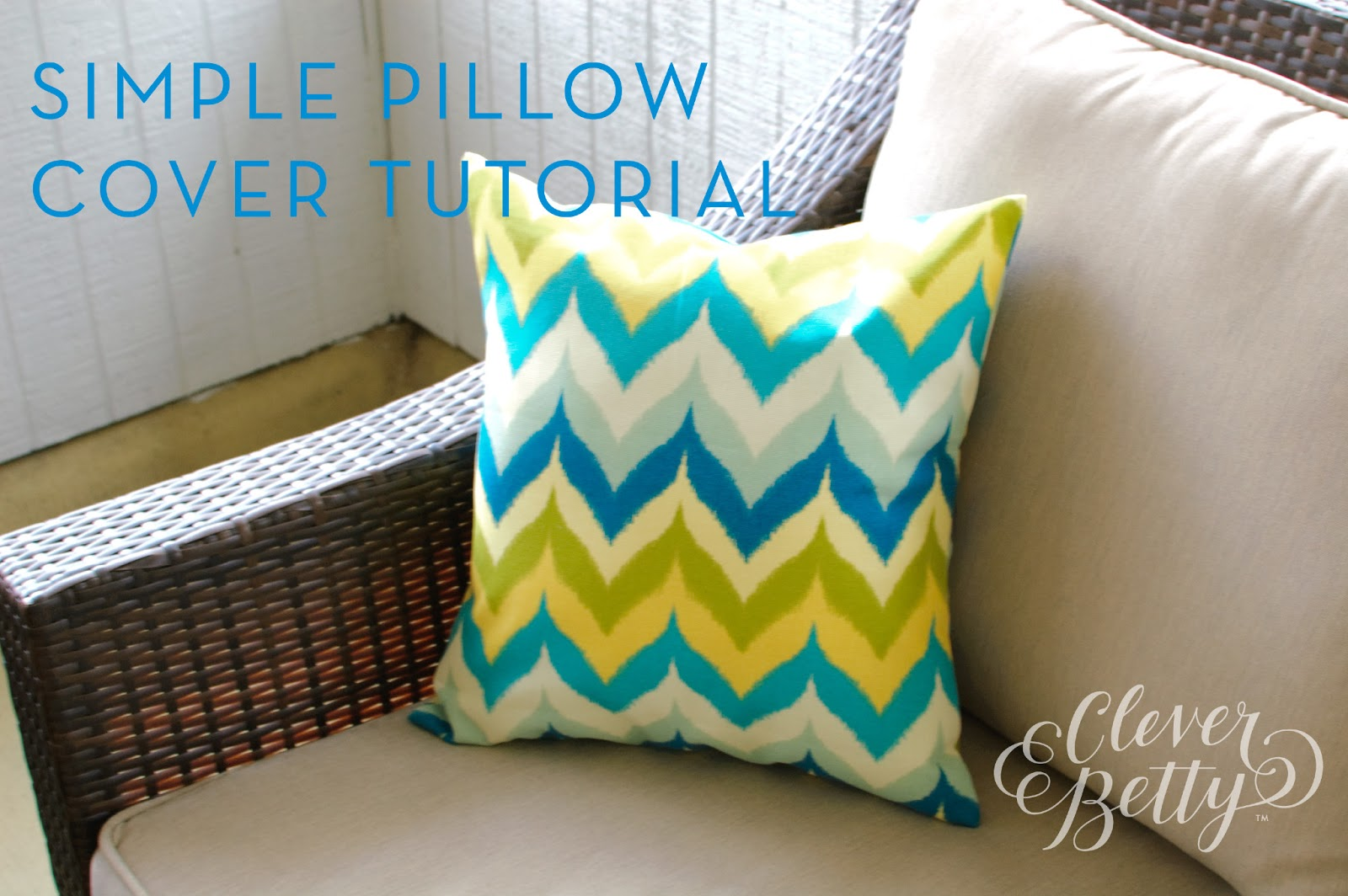 Sewing Tutorial For Pillow Cover: You Had Me At Handmade     Beginner Sewing Tutorial  Simple Pillow    ,