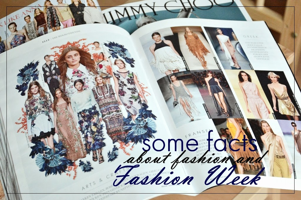 Some facts about fashion and fashion week