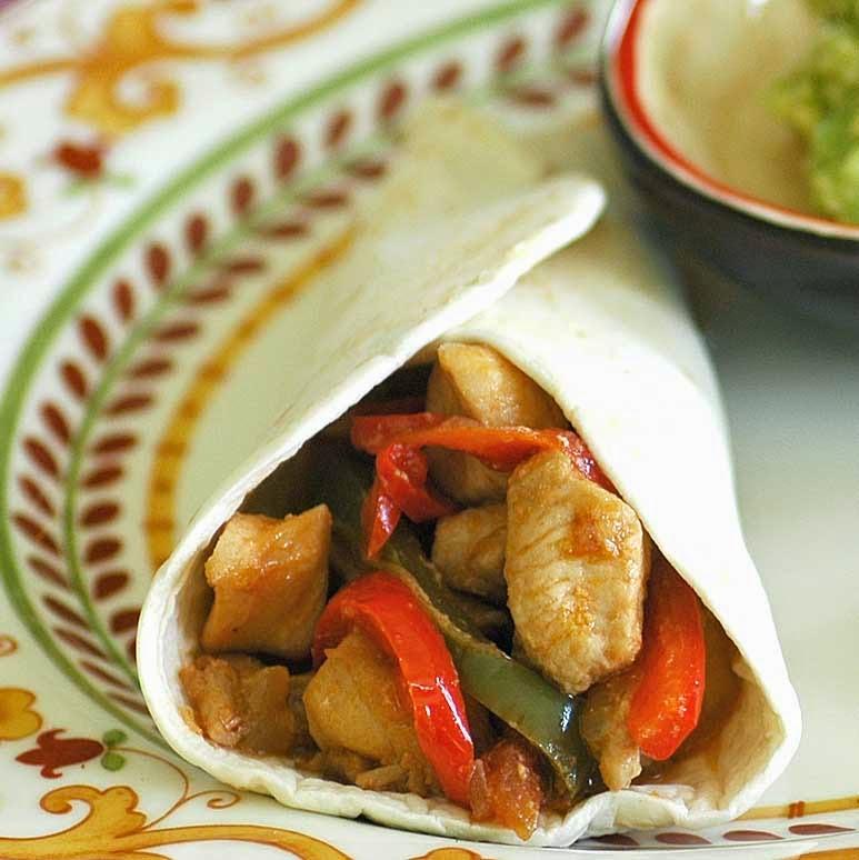 Simple and Delicious Chicken Fajitas