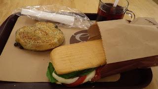 イスタンブール空港のサンドイッチ