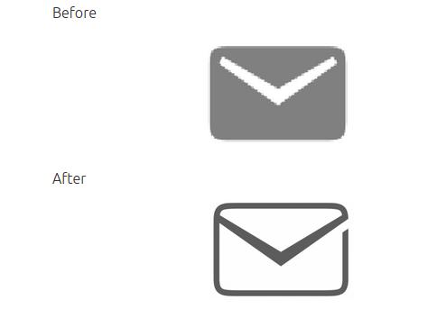 Novos ícones do Ubuntu